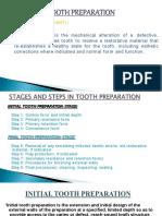fundamentals of cavity preparations