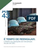 É Tempo de Reengajar - Instituto Igarapé