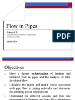 FluidMechanics_flow in pipes