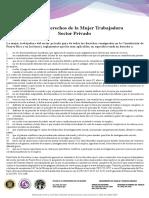 Carta de Derechos de La Mujer Trabajadora (Ley Núm. 9 de 2020)