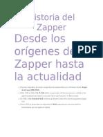 Historia del Zapper
