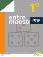 Entre Maestros 1° - 2020