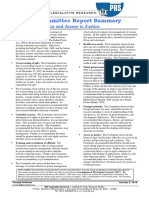 Standing Committee Report Summary - Women Prisoners