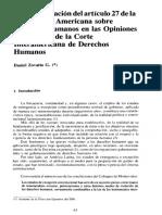 Derechos Humanos en las Opiniones Consultivas de la Corte Interamericana de Derechos Humanos