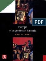 Wolf-Europa y la gente sin historia-selección
