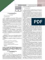 Resolución Suprema N° 004-2020-TR
