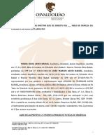 MODELO DE AÇÃO DE ALIMENTOS