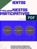 LINEAMIENTOS SOBRE PRESUPUESTOS PARTICIPATIVOS (1)