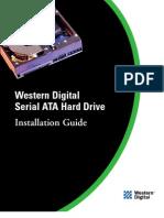 WD Sata Drive Install