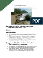 Ancaman Dan Faktor Penyebab Kerusakan Laut