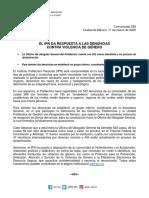 C-038 El Ipn Da Respuesta a Las Denuncias Contra Violencia de Género