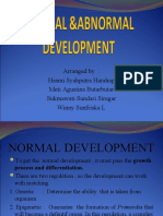 Normal Abnormal Development