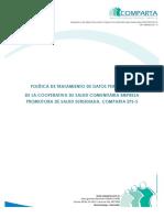 POLITICA DE PROTECCIÓN DE DATOS PERSONALES COMPARTA_publicar