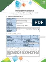 Guía de actividades y rubrica de evaluación - Fase 6 - Presentar trabajo de evaluación final (2)