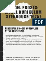 M14_Model Kurikulum dan Pelaksanaan Kurikulum Stenhouse