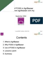 FOSS in Agribazaar