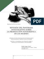 REVISIÓN DEL PANORAMA INVESTIGATIVO SOBRE LA PRODUCCIÓN FOTOGRÁFICA DE LAS MUJERES