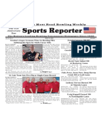 March 12, 2020  Sports Reporter