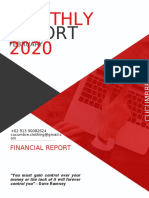 financial report template