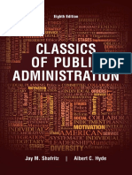 Classics of Public Administration - Jay M. Shafritz & Albert C. Hyde.pdf