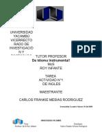 Actividad 1 (The dictionary) UNYA