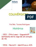 Colinérgicos - Farmacologia