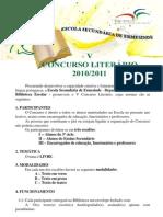 V Concurso Literário da ESE