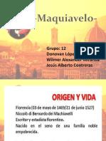 Exposición de Maquiavelo