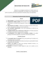 40 Elementos Fundamentales del Desarrollo