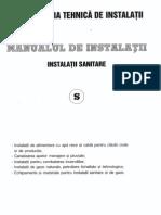 Manualul Instalatorului Sanitare -2010