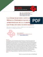 La inequidad educativa en Mexico