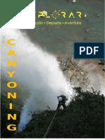 CANYONING ALTO BIOBIO tour ñireko