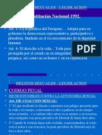HECHOS PUNIBLES CONTRA LA AUTONOMIA SEXUAL