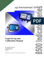 Legal Setup and Calibration Manual