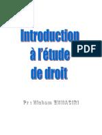 Cours Inroduction à l'Étude de Droit