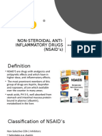 NON-STEROIDAL ANTI-INFLAMMATORY DRUGS (NSAID's).pptx