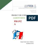 Agroturismul din Franța