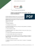 Lei Ordinária 1744 2015 de São Francisco do Sul SC - PME