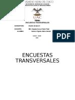 Exposición estudios transversales