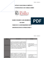 Daniel Lara 18110497 - TAREA 1 UNIDAD 4