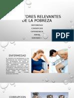 5 FACTORES RELEVANTES DE LA POBREZA