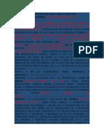 ACTA CONSTITUTIVA DE LA ASOCIACIÓN CIVIL BEISBOL