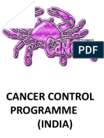 cancer control programme