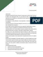 Reporte coronavirus 11-03-2020