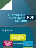 PRESENTACIÓN I AUDITORIA Y PROGRAMA DE AUDITORIA