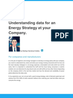 Understanding Data for an Energy Strategy at Your Company.