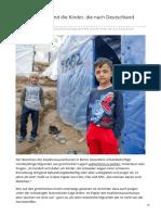 welt.de-Migration Wer sind die Kinder die nach Deutschland dürfen