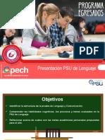 CLASE 1 Presentación PSU de Lenguaje EGR