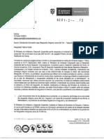 Respuesta derecho de petición MINAMBIENTE-Yaguara II