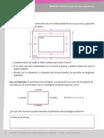 perímetro y área del cuadrado y rectángulo